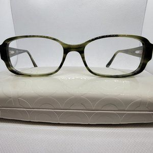 COACH 539 VIVIAN Dark Green Sunglasses Frame